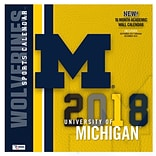 Michigan State Spartans 2018 12X12 Team Wall Calendar (18998011831)