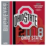 Ohio State Buckeyes 2018 Mini Wall Calendar (18998040528)