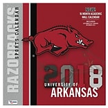 Arkansas Razorbacks 2018 Mini Wall Calendar (18998040600)