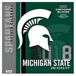 Michigan State Spartans 2018 Mini Wall Calendar (18998040606)
