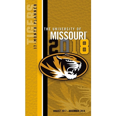 Missouri Tigers 2017-18 17-Month Planner (18998890513)