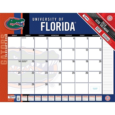 Florida Gators 2018 22X17 Desk Calendar (18998061477)