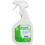 Green Works Bathroom Cleaner Spray, 24 Ounces (00452)
