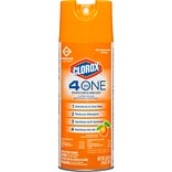 Clorox Commercial Solutions 4 in One Disinfecting Cleaner - 14 Ounce Spray Can  (31043)
