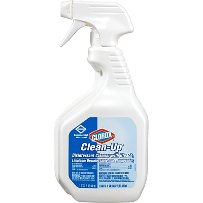 *FIRST RESPONDERS & HEALTHCARE ONLY* Clorox Commercial Solutions Clorox Clean-Up All Purpose Cleaner, 32 Oz Spray Bottle