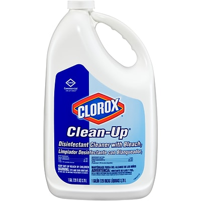 Clorox Commercial Solutions Clorox Clean-Up All Purpose Cleaner with Bleach -  Original, 128 Ounce Refill Bottle (35420)