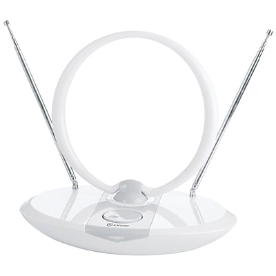 Antop Antenna Inc At-307 Ring Indoor Hdtv Antenna With Gain Attenuator