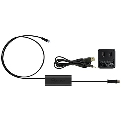 Antop Antenna Inc At-601b Smartpass Amp with 4g Let Filter & Power Supply Kit, Black