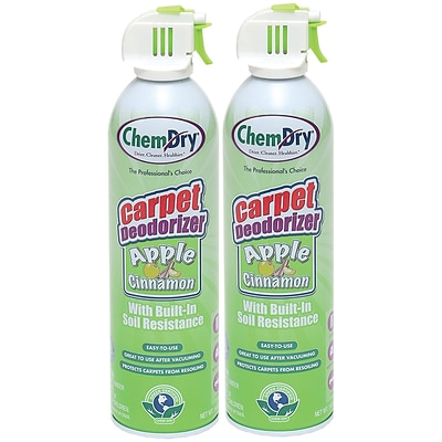 Chem-Dry Chemdry Carpet Deodorizer, Apple Cinnamon, 2/Pk (C317-2)