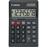 Canon LS-88HI III Green Display Basic Calculator - Battery/Solar Powered - 1 x 5.4 - Black