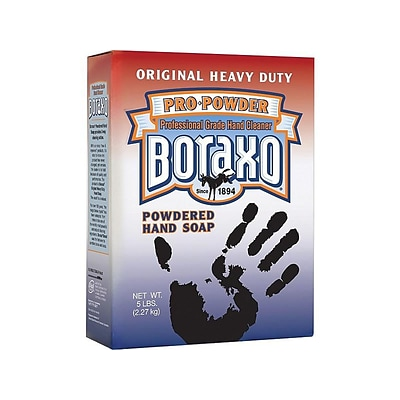 Boraxo Powdered Hand Soap, Unscented, 80 Oz. (02203)