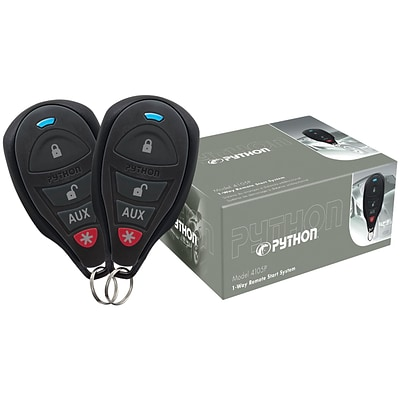 Python 4105p 1-way Remote-start System with .25-mile Range & 2 Remotes