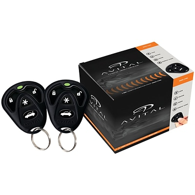 Avital 5105l 1-way Security & Remote-start System with D2d