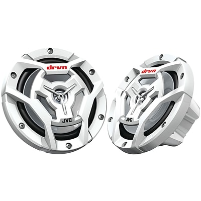 Jvcm Cs-dr6201mw Marine/motorsports 6.5 150-watt 2-way Coaxial Speakers (white)