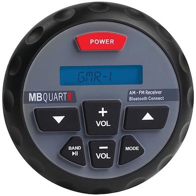 Mb Quart Gmr 1 Nautic Series Gmr In dash Bluetooth enabled Gauge mount Radio (gmr 1)