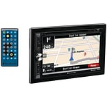 Planet Audio Pnv9650 6.5 Double-din In-dash Navigation Touchscreen Dvd Receiver With Bluetooth (wit