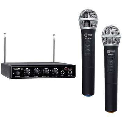 Nady Wkm-2 Wireless Handheld Microphone System & 4-input Mixer