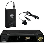 Nady Enc 1 Lt Enc-i Single-channel Professional Vhf Wireless Lapel System