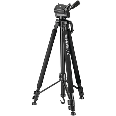 Sunpak 620-663lx 6630lx 66 Photo/video Tripod with Adapters