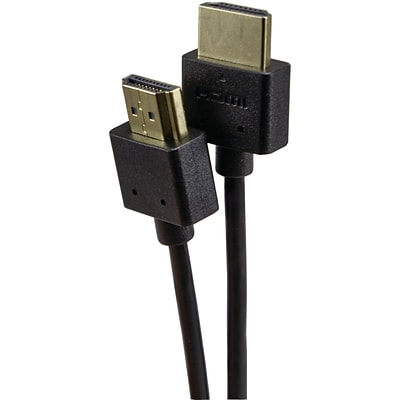 Vericom High Speed VU Series XHD03-04252 3 HDMI Audio/Video Cable, Black