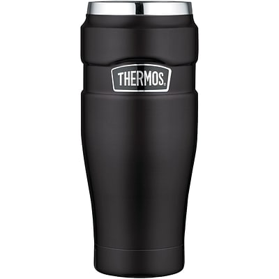 Thermos Sk1005bktri4 Stainless King Vacuum-insulated Travel Tumbler, 16oz
