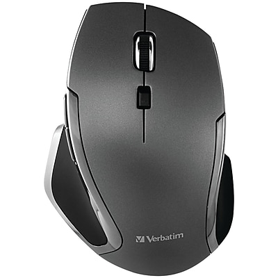 Verbatim Deluxe 98621 Wireless Bluetooth Mouse, Graphite