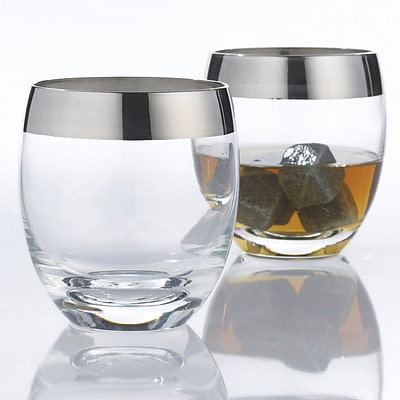 Wine Enthusiast 7764002 Madison Avenue Whiskey Glasses, Set Of 2