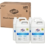 Clorox Healthcare Bleach Germicidal Cleaner Refill, 128 Ounces, 4 Bottles/ Case (68978)