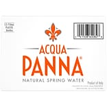 Acqua Panna Natural Spring Water, 25.3 fl oz. Plastic Bottle, 12/Pack (12393949)