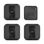 Amazon  Blink XT2  Wireless Outdoor/Indoor Home Security Camera System 3/Pack, Black (B07MMZF2BF)