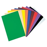 WonderFoam Sheets Craft Materials, Assorted Colors, 10/Pack (AC4318)