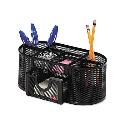 Rolodex Pencil Holder, Black Steel (1746466)
