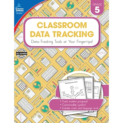 Carson-Dellosa Resource Book Classroom Data Tracking Grade 5 160 pages (104921)