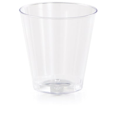 Creative Converting Clear Plastic Shot Glasses 20 pk (317597)