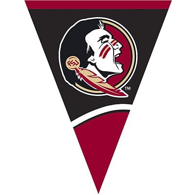 Creative Converting Florida State University Flag Banner  (290833)