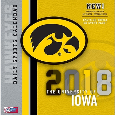 Iowa Hawkeyes 2018 Box Calendar (18998051388)