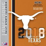Texas Longhorns 2018 Box Calendar (18998051385)