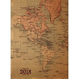 Tf Publishing 2018 Academic Year Kraft Map Monthly Planner (18-4215A)