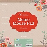 Tf Publishing Nondated Kraft Garden Weekly Memo Mouse Pad (20-0215)