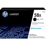 HP 58X Black Toner Cartridge, High Yield (CF258X)