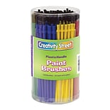 Chenille Kraft® Creativity Street® Economy Plastic Paint Brushes; 6-Color Assorted, 144/Pack (PAC517