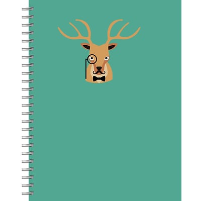 Tf Publishing Nondated Oh Deer Lined Wire-O Journal (99-6007)