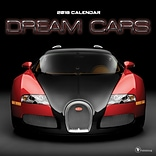 Tf Publishing 2018 Dream Cars Wall Calendar (18-1050)