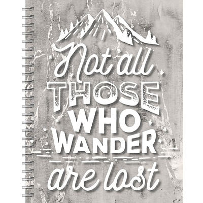 Tf Publishing Wanderlust Spiral Lined Journal (99-6005)