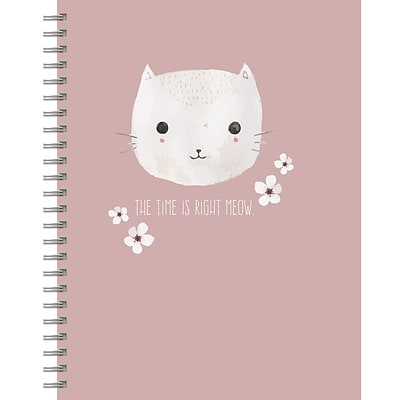 Tf Publishing Pretty Kitty Spiral Lined Journal (99-6010)