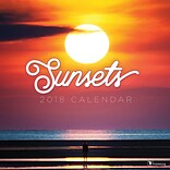 Tf Publishing 2018 Sunsets Wall Calendar (18-1095)