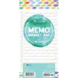 Tf Publishing Nondated Confetti Lined Memo Magnet Pad (30-0221)