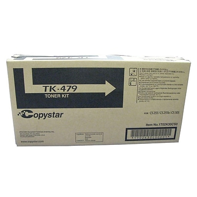 Kyocera TK-479 Black Toner Cartridge, Standard