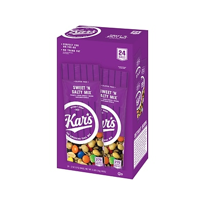 Kars SWEETN SALTY Snack Mix, 2 oz., 24/Box (08387)