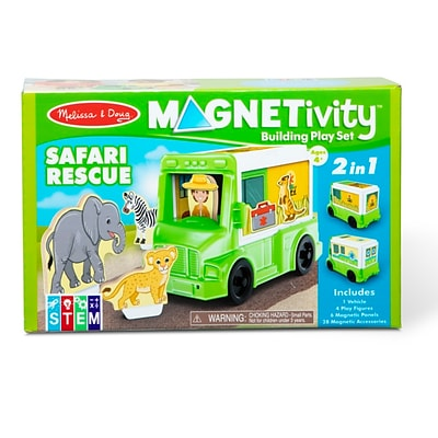 Melissa & Doug Magnetivity, Safari Rescue (30666)